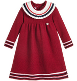 Red Wool Knit Dress