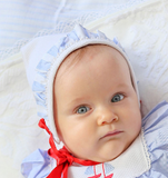 Nautical Baby Bonnet