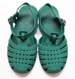 Classical Jelly Sandals Myrtle Green