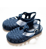 Classical Jelly Sandals Navy Blue