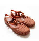 Classical Jelly Sandals Rust