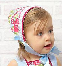 Floral Bonnet - Classical Child  - 1