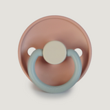 Frigg Pacifier Classic Colour Block Queen/Sandstone