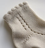 Linen Short Lace Socks - Classical Child  - 3