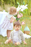 Natural Linen Set - Classical Child  - 3