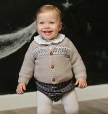 Foque Boys Cardigan with Detail