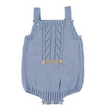 Spanish Knitwear Overalls with Detailing