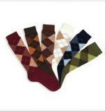 Argyle Harlequin Socks