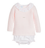 Foque Baby Pink Knitted Sweater