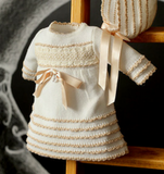 Foque Baby Ivory Knitted Dress