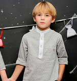 Foque Grey Boys Shirt