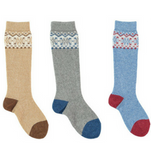 Fairisle Socks - Long - Classical Child  - 1