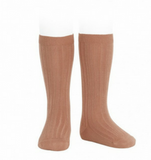 Ribbed Socks Clay