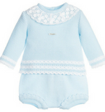 Foque Pale Blue Knitted Set