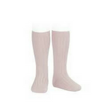 Ribbed Socks Dusky Rose - Classical Child  - 1