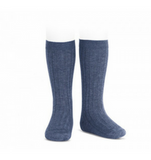 Clearance Ribbed Socks Jeans