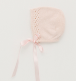 Detailed Silk Knitted Bonnet | Foque