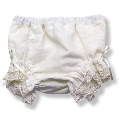 Cream Baby Bloomers | Foque