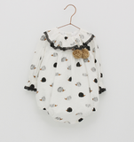 Hedgehog Print Romper | Foque