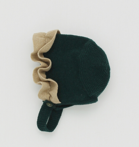 Forest Bonnet with Frill | Foque