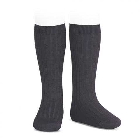 Carbon Ribbed Socks