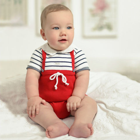 Baby Knitted Cotton Romper