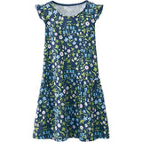 Liberty Mirabelle Navy Printed Dress - Classical Child  - 2