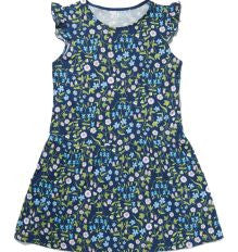 Liberty Mirabelle Navy Printed Dress - Classical Child  - 1