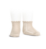 Linen Short Lace Socks - Classical Child  - 1