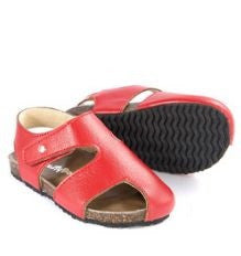Red Buddy Sandal - Classical Child  - 1