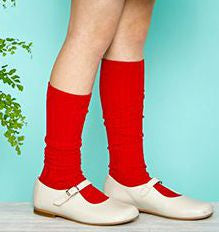 Ribbed Socks Red - Classical Child  - 1