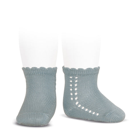Short Lace Socks Sage Green | Condor