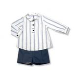 Navy & White Boys Set - Classical Child  - 1