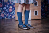 Ribbed Socks French Blue - Classical Child  - 11