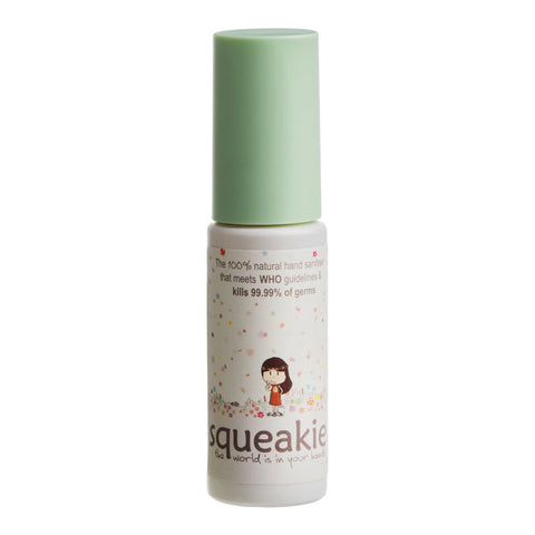 Squeakie Natural Hand Sanitiser - Lime & Palmarosa 50ml