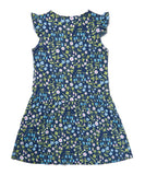 Liberty Mirabelle Navy Printed Dress - Classical Child  - 7