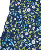 Liberty Mirabelle Navy Printed Dress - Classical Child  - 9
