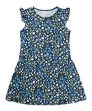 Liberty Mirabelle Navy Printed Dress - Classical Child  - 6