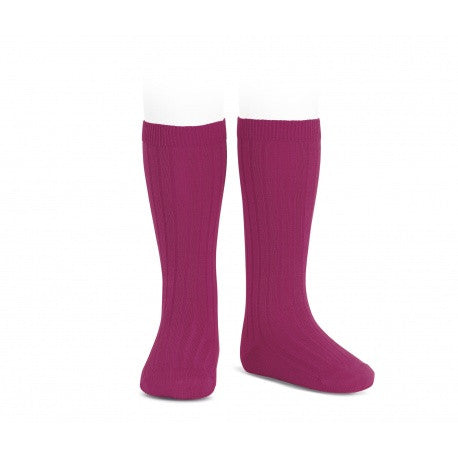 Ribbed Socks Petunia