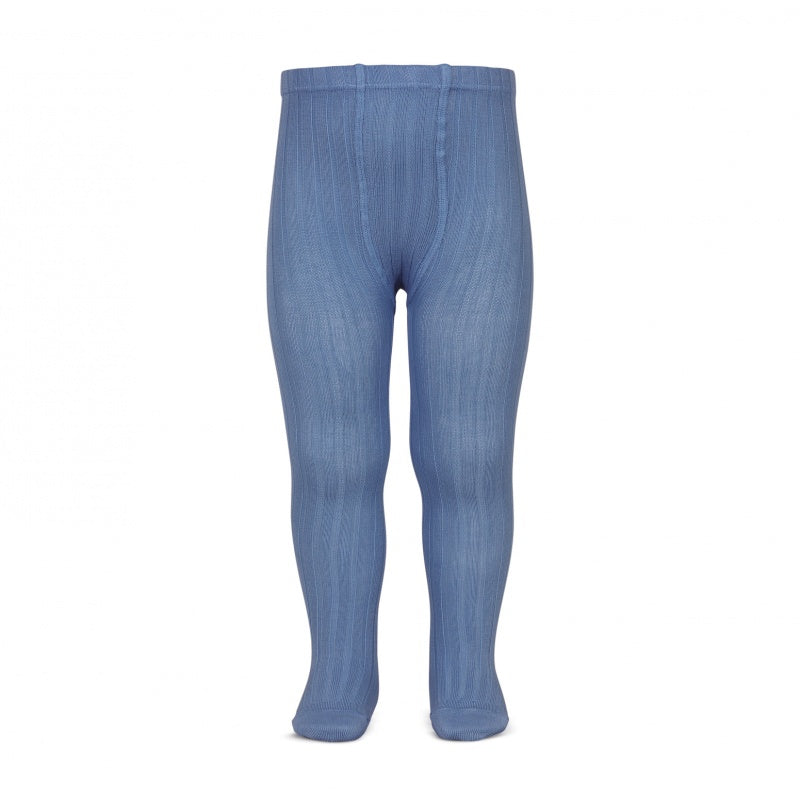 741af3a8710 French Blue Ribbed Tights – Classical Child