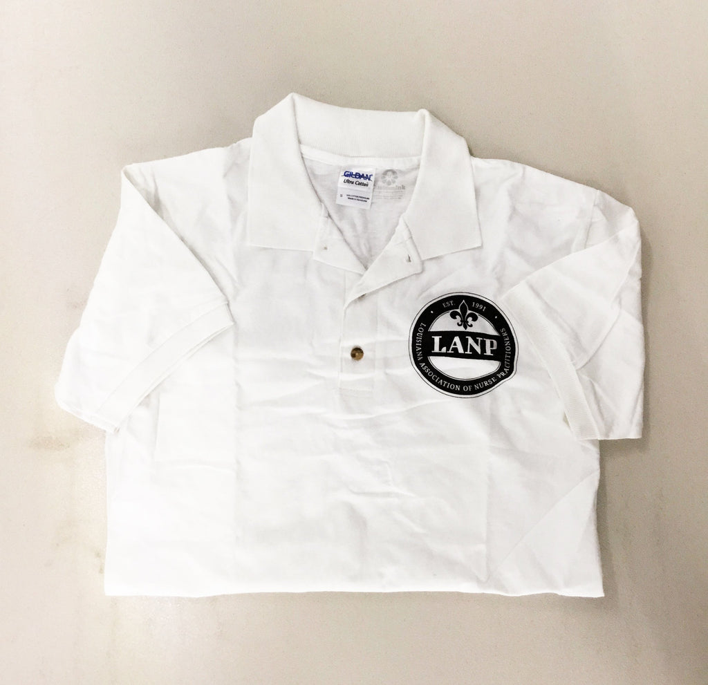 Cotton Polo Shirt (clearance) - LANP Merchandise