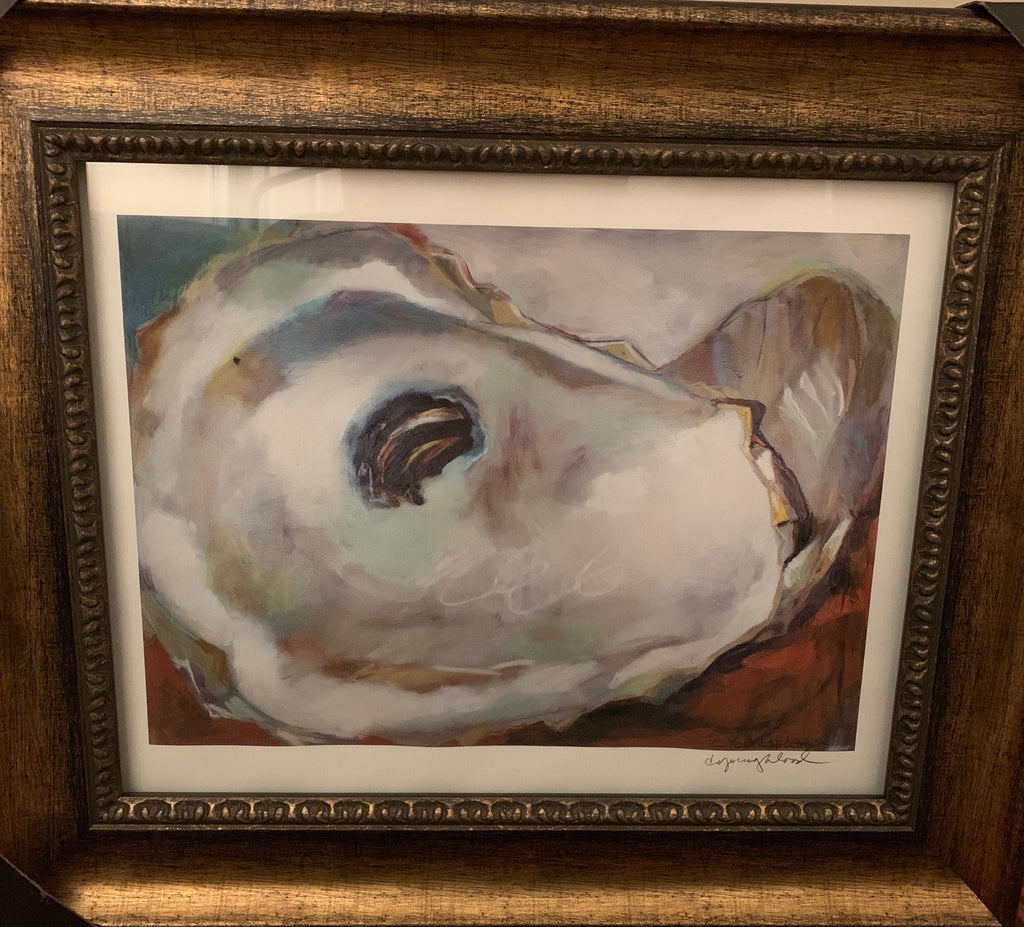 Signed and Framed Oyster Print