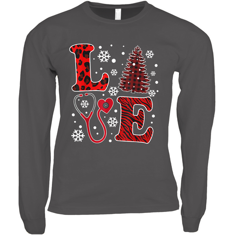 Winter LOVE - Long Sleeve Shirts