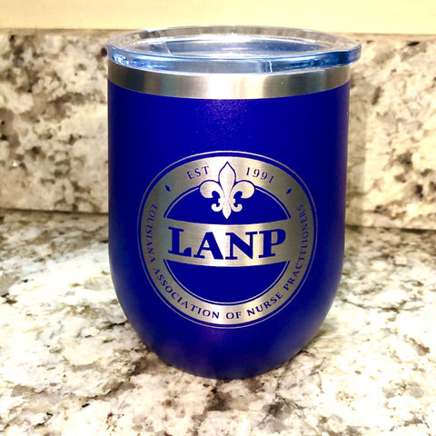 LANP Wine Tumbler - 12 oz Purple