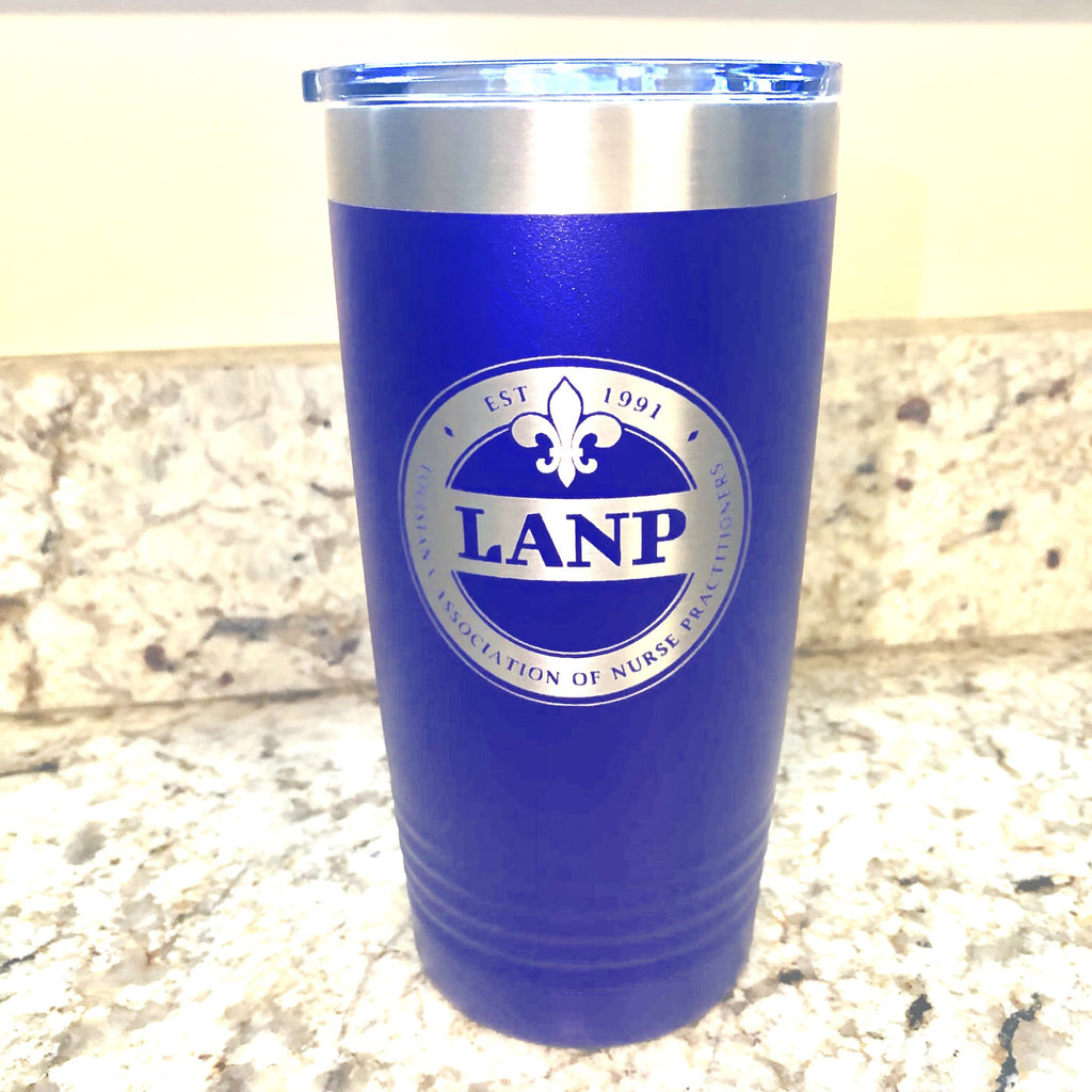 LANP Tumblers - 20oz Purple - LANP Merchandise