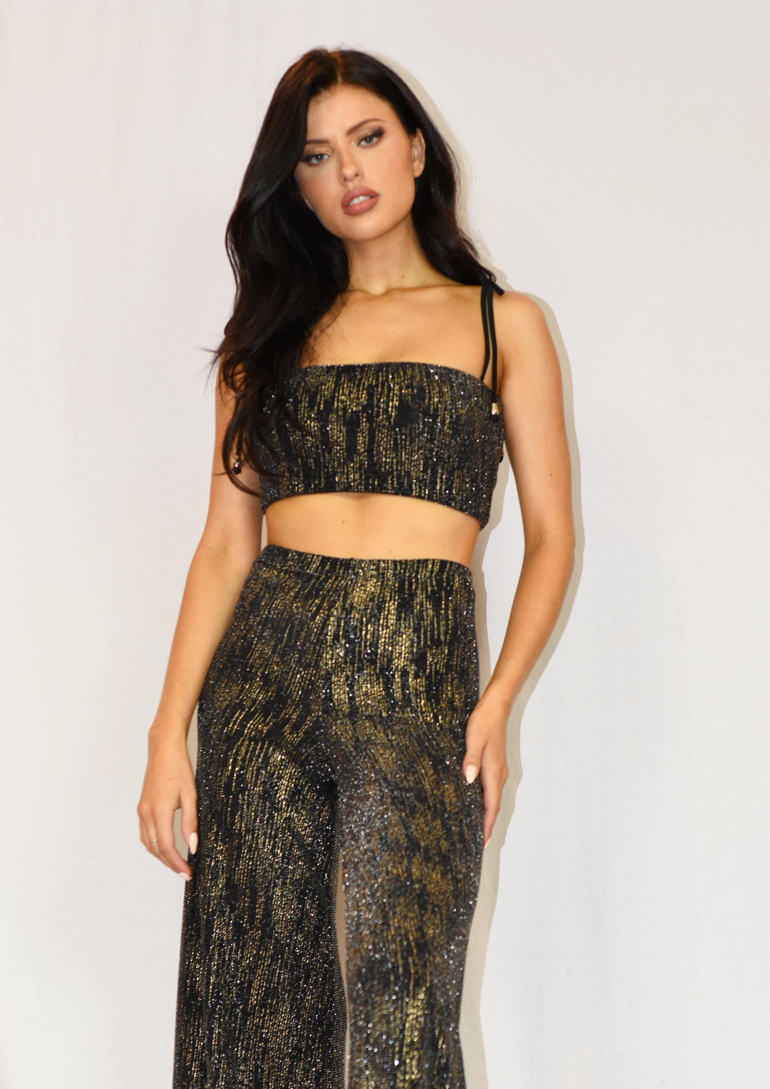 Ashleigh Crop Top freeshipping - Evangeline
