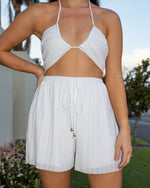 LIMITED EDITON-Mikaela Shorts in Coconut freeshipping - Evangeline
