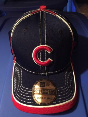 MLB Chicago Cubs Adult Flex Fitted L/XL Hat