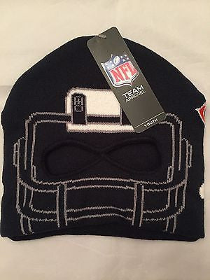 NFL Chicago Bears Youth  47 Brand Facemask Knit Winter Hat c755c5861f34