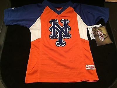 lowest price 24aa4 e87ca MLB New York Mets Youth Size 4 Stitches Jersey